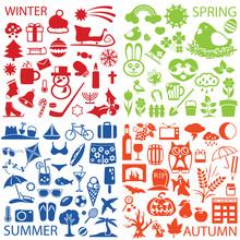 Season Symbols And Icons