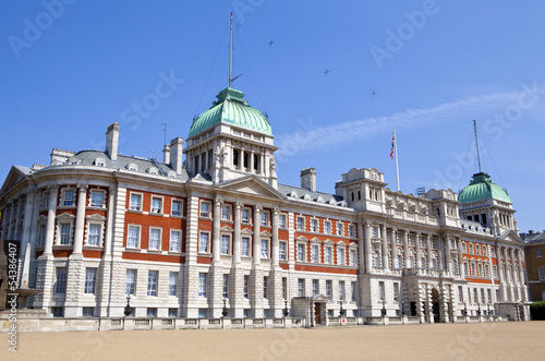 Old Admiralty Building Horseguard's Parade in London. Wallpaper Mural