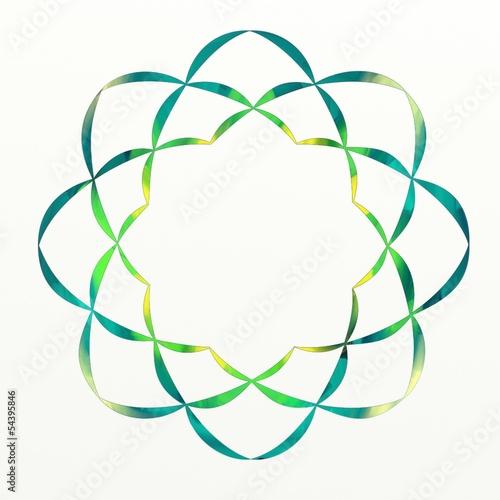 Green Lotus Flower Buddhist Symbol, soka gakkai - Buy this