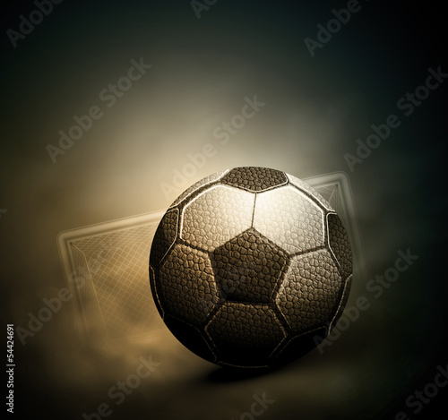Photo  Soccer background
