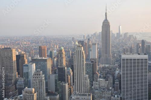 Keuken foto achterwand New York View of New York City