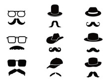 Invisible Man With Mustache ,g...