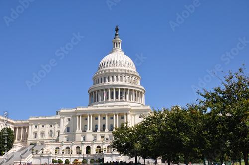Ingelijste posters Centraal-Amerika Landen United States Capitol