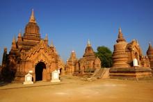Ancient Temples In Bagan, Myan...