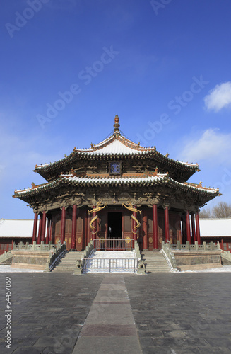 Valokuva  Chinese ancient palace building