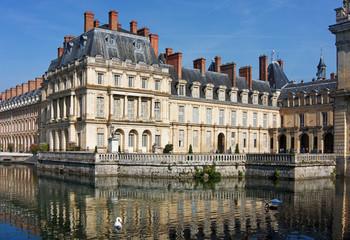 Fototapeta na wymiar château de Fontainebleau