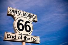Historic Route 66 Santa Monica...