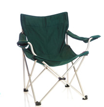 Green Folding Lawn Chair On Wh...