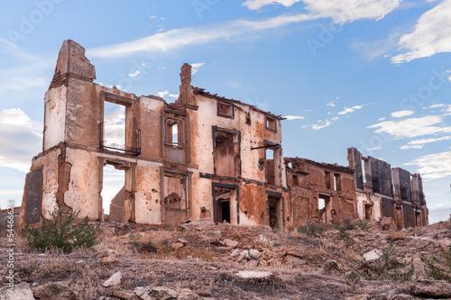 Fotografie, Obraz  Destroyed building in Belchite, Spain