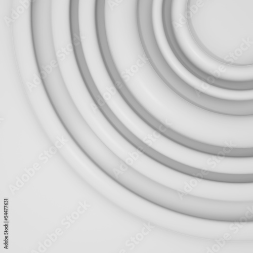 Papiers peints Tunnel abstract composition