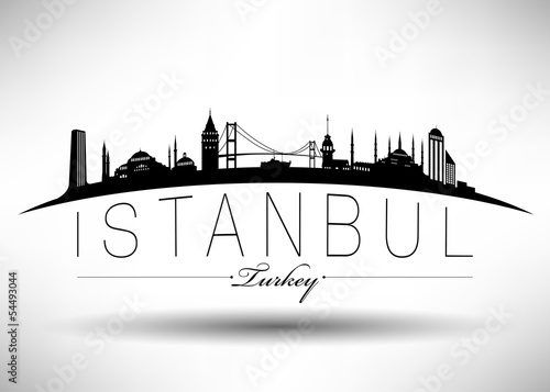 Photo  Istanbul Silhoutte Design