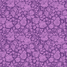 Purple Vintage Seamless Patter...