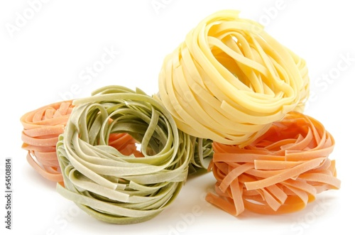 Fotografie, Obraz  Nidos de pasta italiana al huevo