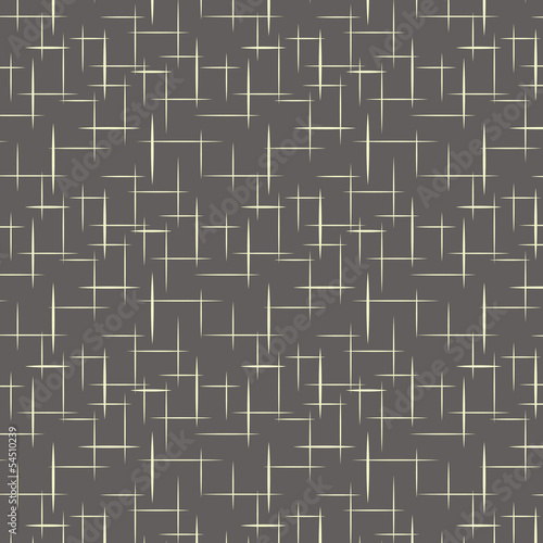 1950s Retro Style Pattern Background Canvas Print