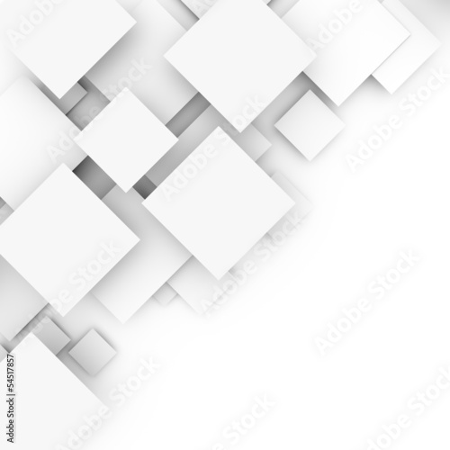 Fotografie, Obraz  Abstract white background