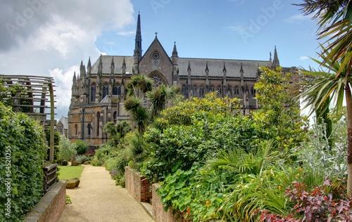 Deurstickers Brugge jardin britannique