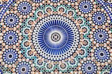 Oriental Mosaic In Morocco, North Africa