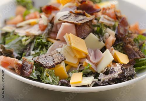 Chef's salad Canvas Print