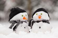 Two Little Snowmen
