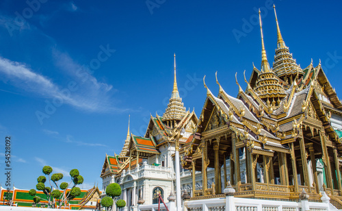 Royal grand palace in Bangkok, Thailand