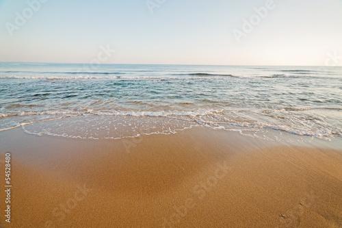 Tablou Canvas beach and sea
