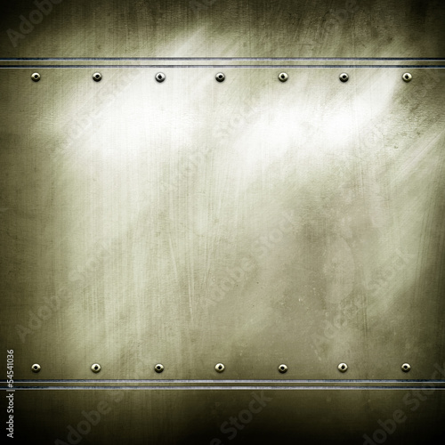 Fotografering  metal plate background