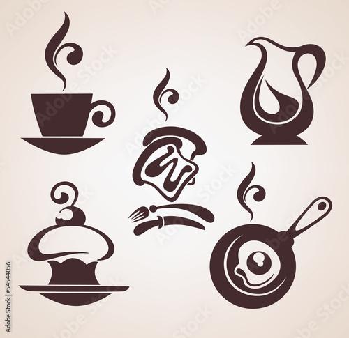 dzien-dobry-wektor-zbiory-tradycyjnych-posilkow-sniadaniowych