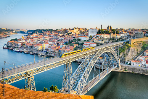 Porto with the Dom Luiz bridge, Portugal
