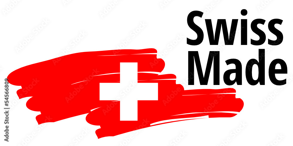 Fototapeta Swiss Made