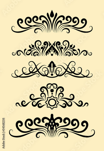 Floral Ornament Decorations