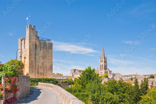 Photo Cityscape of central Saint-Emilion, France