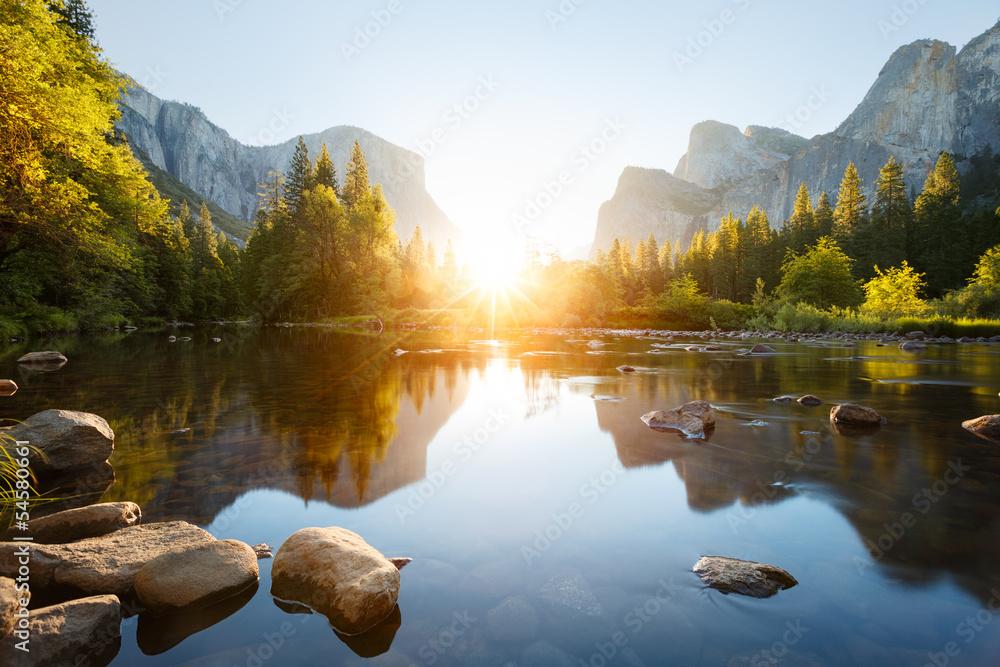 Fototapeta Yosemite valley