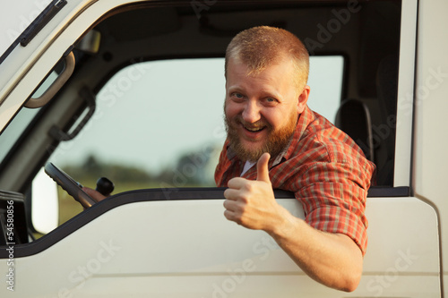 Driver shows that it all okay Wallpaper Mural