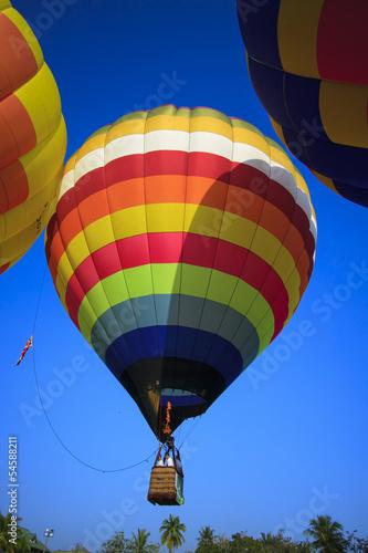 In de dag Ballon Balloon festival