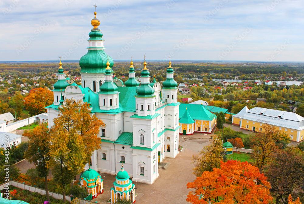 Fototapety, obrazy: Trinity Monastery, Chernigov, Ukraine