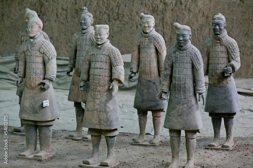 Foto op Plexiglas Xian Terra Cotta Warriors and Horses, Xian, China