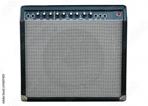 Photo guitar amplifier