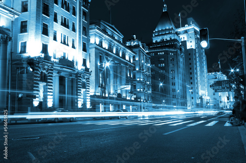 Photo  Shanghai Night - Bund