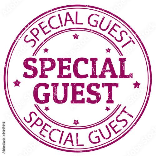 Carta da parati Special guest stamp