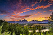 Summer Sunset At Snake River O...