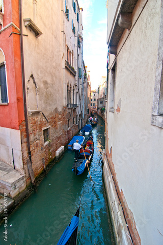Canvas Prints Venice Venice Italy Gondolas on canal