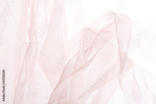 Obraz na plátně  Abstract soft chiffon texture background
