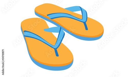 slipper vector