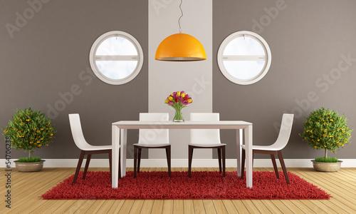 Fotografía  Contemporary dining room