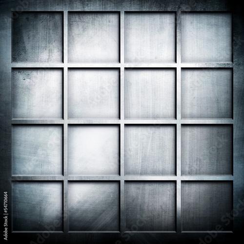 Fototapeta metal grid background obraz na płótnie