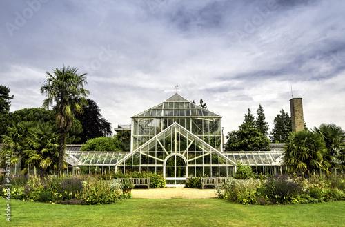 Cuadros en Lienzo Botanic garden in Cambridge, England