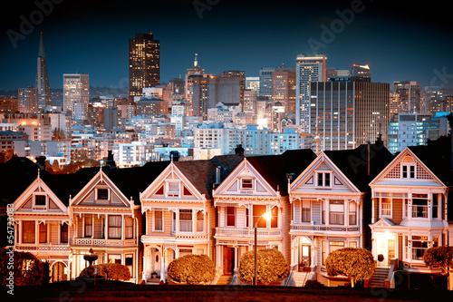 Urban landscape San Francisco Poster