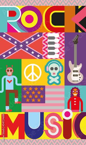 plakat-muzyki-rockowej