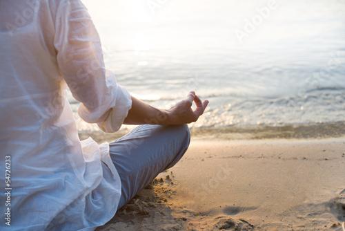 Fotografie, Obraz  Woman meditating