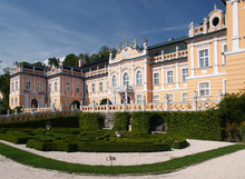 Rococo Castle With Park